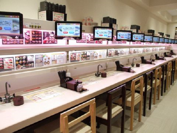 Conveyor belt sushi chain taking the bold, eco-friendly step of getting rid of all its conveyors