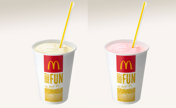 McDonald's Japan's straws are designed to mimic the experience of drinking breast milk