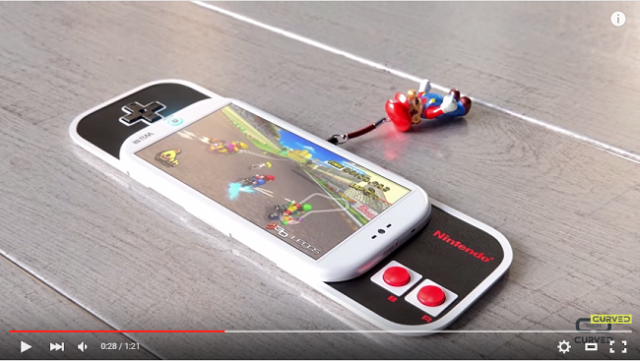 If Nintendo made a smartphone, it might look something like this 【Video】