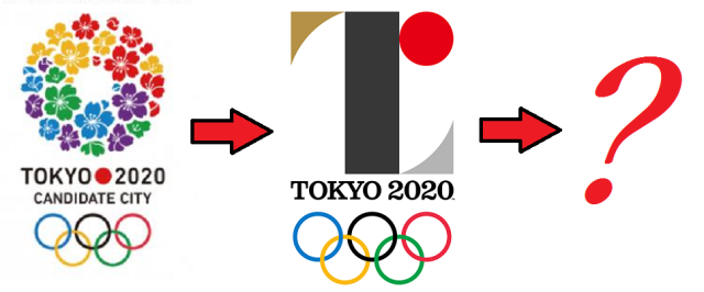 Looks like it's time to say good-bye, and maybe good riddance, to the 2020 Tokyo Olympics logo
