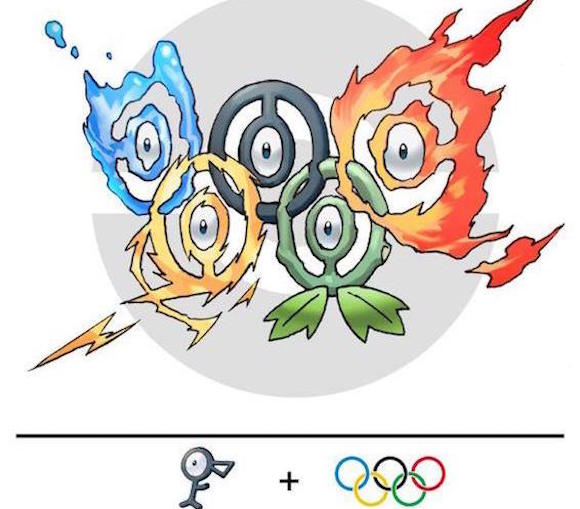 Could this Pokémon Olympics logo be the answer to Tokyo's woes?
