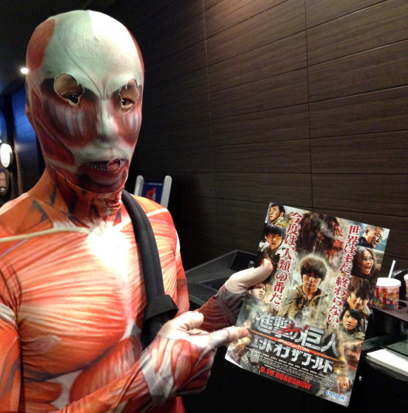 Attack on Titan live action movie receives its most colossal review from a Tiny Titan