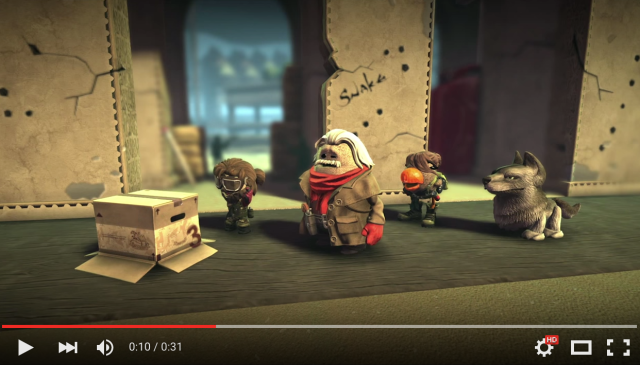 Little Big Planet 3 offers Metal Gear Solid V: The Phantom Pain costumes