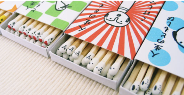 "These cute character matches will really ""catch on"" and ""start a fire"" in your heart"