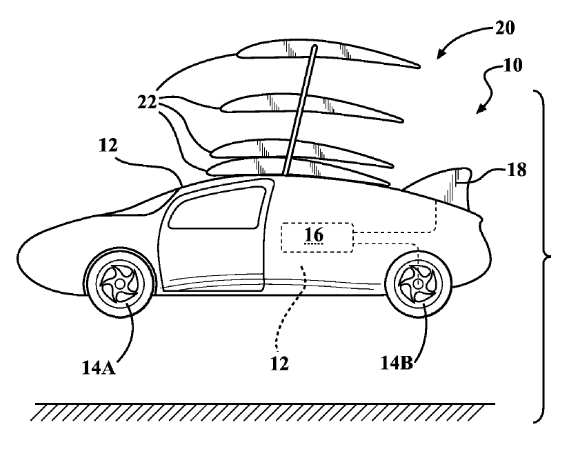 The future is (kind of) here – Something not quite right with Toyota's patent for a flying car