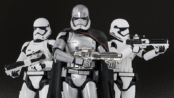 Captain Phasma figure is the perfect way to get ready for Star Wars: The Force Awakens