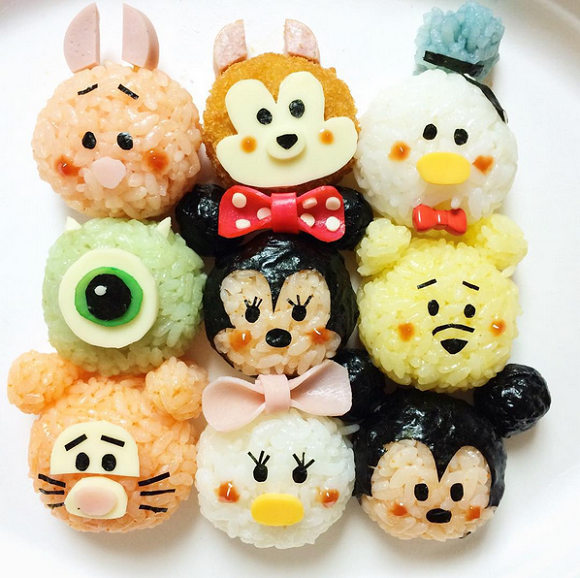 Awesome lunch boxes full of Disney's Tsum Tsum characters are almost too cute to eat!【Photos】