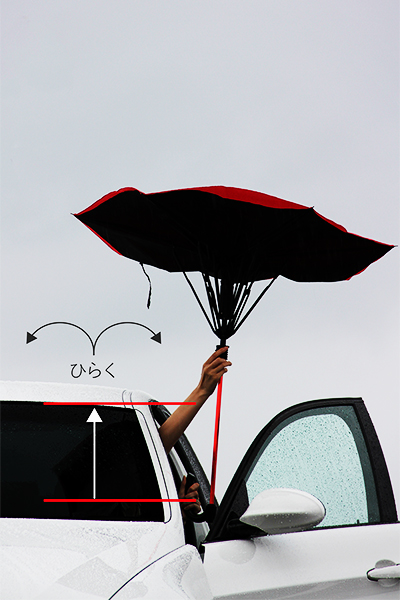 GAX-G1, the inside out umbrella that may have just revolutionized the age-old tool【Video】