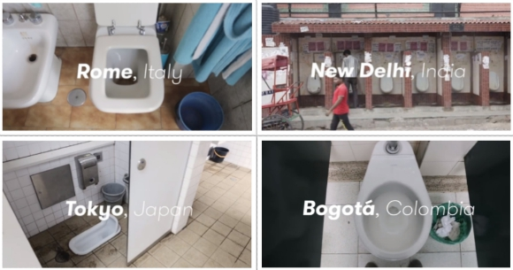 What do toilets the world over look like? Check out this video to find out 【Video】