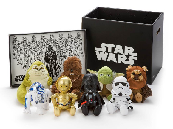 Hold the Force in the palm of your hand with limited edition Star Wars plushies from Takara Tomy
