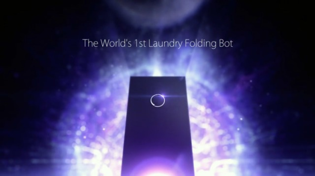 Japan unveils Laundroid, the world's first laundry-folding robot
