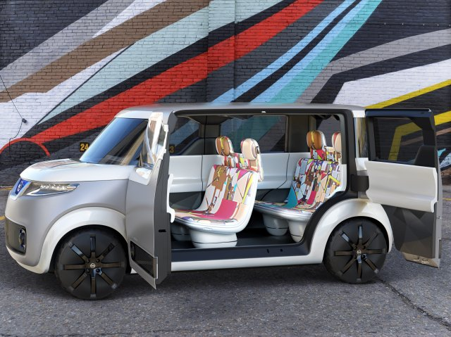 Nissan has created a wacky concept car for people who aren't interested in cars