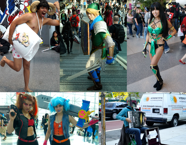 20 of the best outfits seen at this year's New York Comic Con 【Pics】