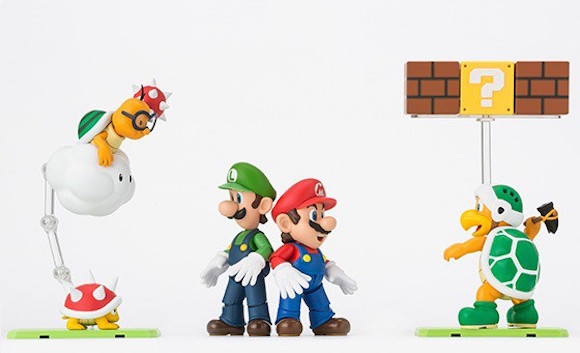 Expand your Super Mario figure collection with enemy characters