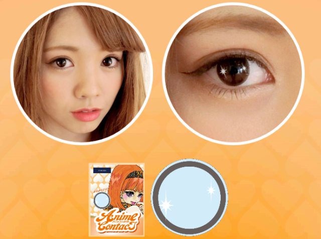 Anime Contact lenses will give you the shimmering eyes of a manga heroine 【Photos】