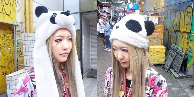 New panda hats and earmuffs from ACDC Rag will keep you warm, increase your kawaii points by ten