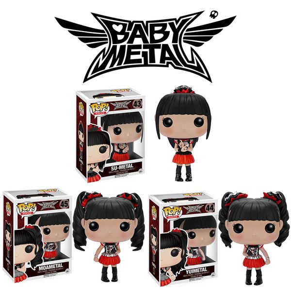 Need holiday presents for your BABYMETAL-loving friends or family? Funko has you covered!