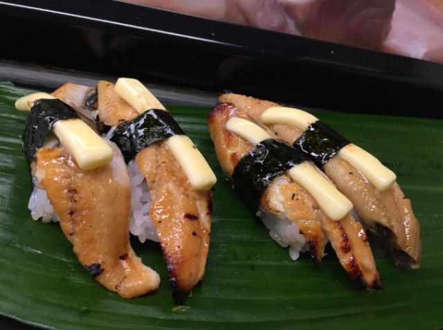 Butter sushi becoming an unlikely hit in Osaka