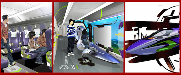 Evangelion Shinkansen service takes off on November 7 with life-sized Eva cockpit on board