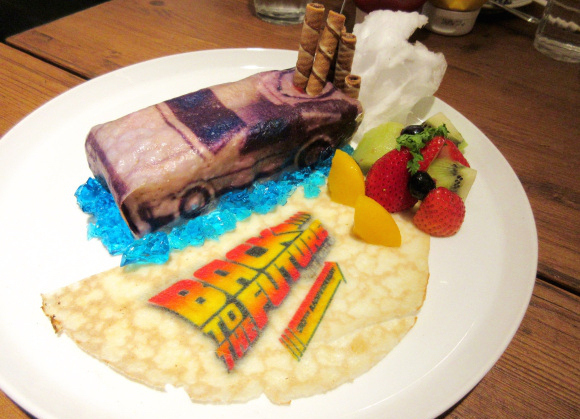 The future is here! Celebrate Back to the Future: Part II's historic day at theme cafes