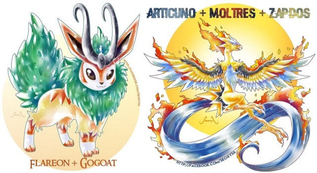 These fan-drawn fused Pokémon are so cool we wish they were really in the game