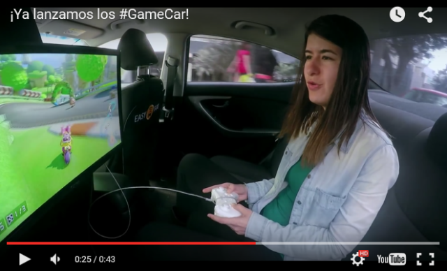 Nintendo taxis?! Peruvian cabs outfitted with Mario Kart 8 setups for rear passengers to play