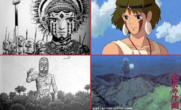 The little-known inspiration for Princess Mononoke: A manga about a tribe in Papua New Guinea
