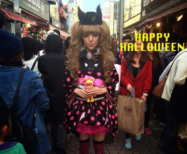 Tokyo Kawaii Musée in Harajuku lets you dress up for Halloween…in a kimono!