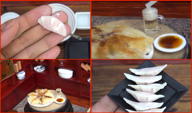 Dollhouse dumplings! Are these the world's tiniest gyoza?【Video】
