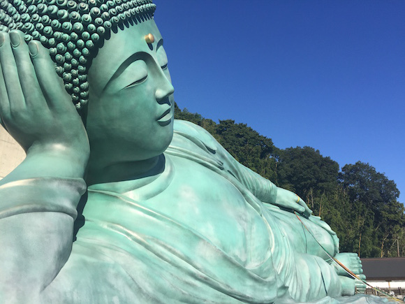 "We visit ""world's largest"" Buddha in Fukuoka, puts Sagat's to shame"