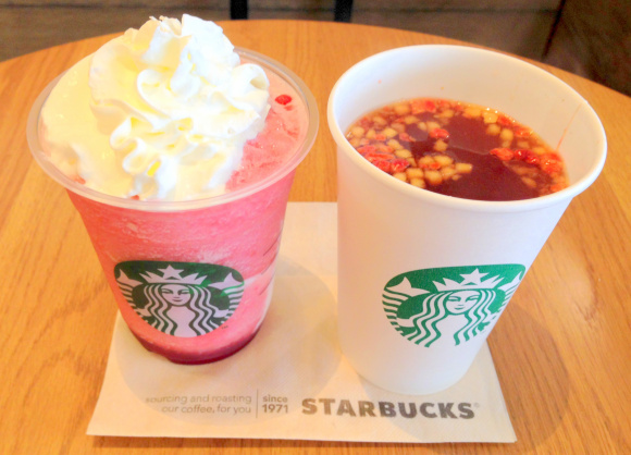 Sweet and fruity taste of autumn comes to Starbucks Japan — we try the new Fruit Crush drinks!