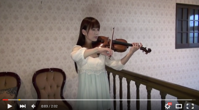 Top violinist Ayako Ishikawa to release major label debut album with anime covers 【Videos】