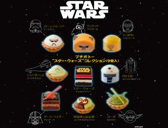 Limited edition Star Wars sweets are the cutest collection of edible characters in the galaxy