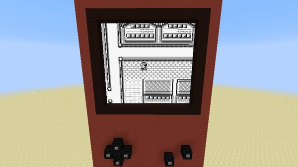 Player recreates Pokémon Red video game within Minecraft