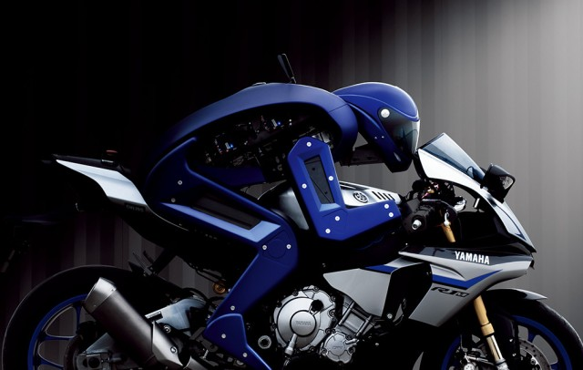 Yamaha shows off Motobot, the motorcycle-driving robot created to surpass us, at Tokyo Motor Show