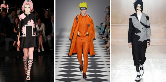 Naruto and cast debut in fashion shows around the world, stun from the runway【Photos】