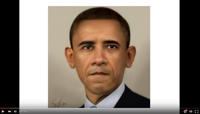 Mr. President, your portrait is ready – Japanese artist shows skills on free painting app【Video】