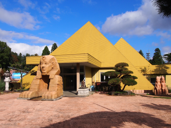 Tochigi hot spring pyramid first in the world to let you bathe in cosmic energy as well as water