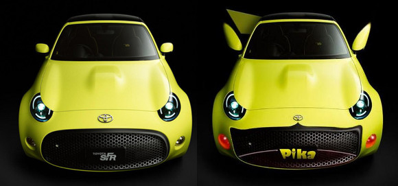 Tokyo Motor Show set to reveal the new concept Toyota SF-R, which looks surprisingly like Pikachu