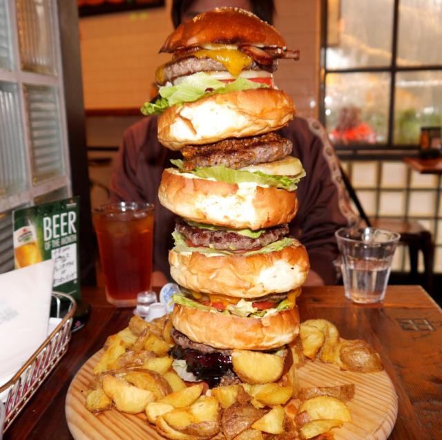 Tokyo's massive Monster Burger is the combining robot of hamburgers