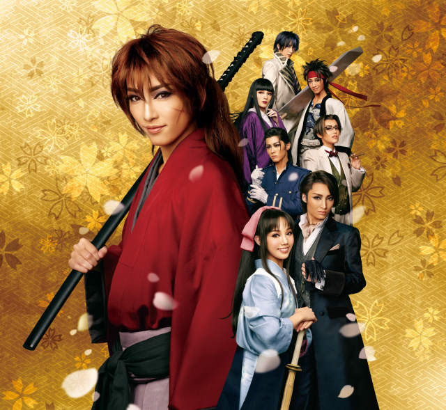 Rurouni Kenshin comes to picture-perfect life as photos of stage musical's cast are released