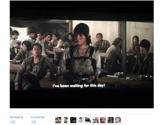 "Attack on Titan fans left ""waiting"", start tweeting, as subtitles freeze during first screenings"