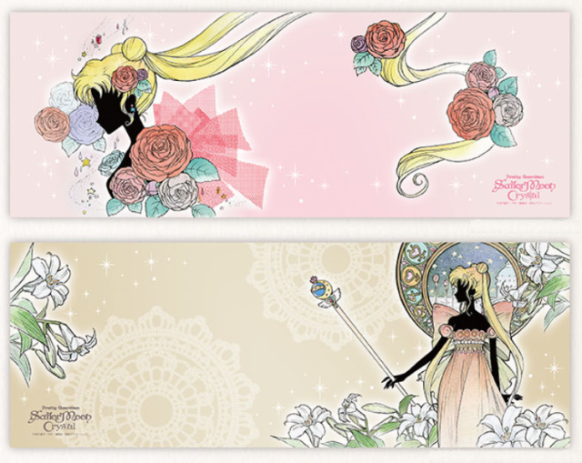 Sailor Moon tenugui towels are a handy and elegant crossover of anime of tradition