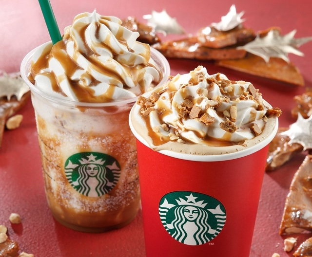 Get your Christmas caramel toffee fix with sweet Starbucks Japan holiday drinks and goodies
