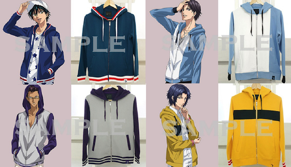 Love-all: Prince of Tennis jackets are a real winner