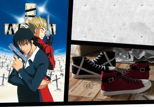 New Trigun sneakers are the perfect footwear for your next stampede across the anime badlands