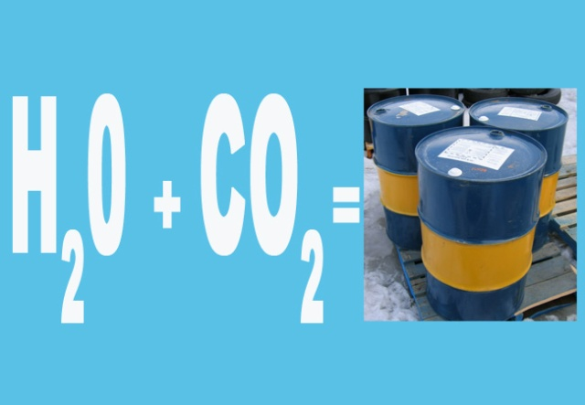 Kyoto professor makes petroleum easily using only water and carbon dioxide…we think