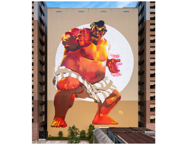 Art collective POW! WOW! completes series of murals in Tokyo's Tennozu Isle【Photos】