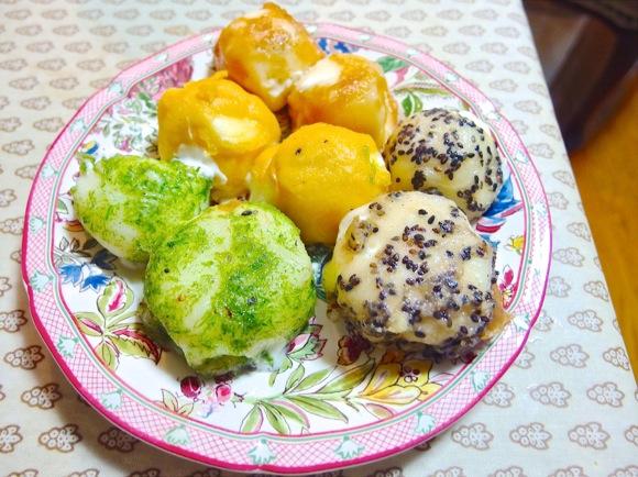 Fried mochi ice cream tastes amazing, is super easy to make!【Recipe】