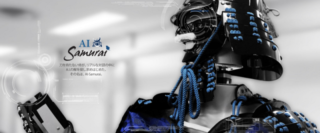 AI Samurai: The artificially intelligent, armored samurai that will answer all your questions